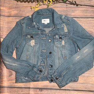Women's Dollhouse Jean Jacket Size M